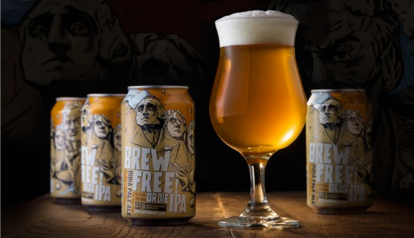 Brew Free or Die IPA, 21st Amendment Brewery - © Michael Warth