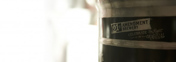 21st Amendment Brewery keg, San Francisco, CA - © Michael Warth
