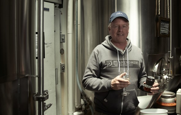 Shaun O'Sullivan, Co-Owner/Brewmaster, 21st Amendment Brewery, San Francisco, CA - © Michael Warth
