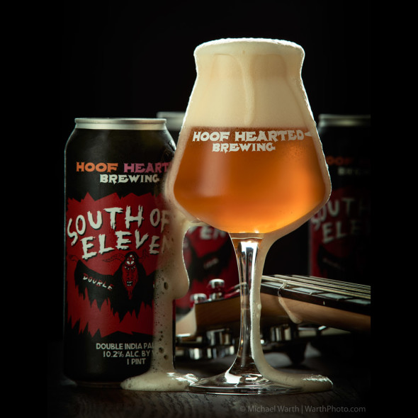 Hoof Hearted Brewing, South of Eleven DIPA - © Michael Warth