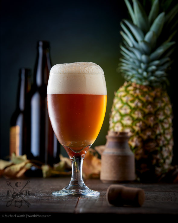 First Capital Brewery, Belgian White with Pineapple - © Michael Warth